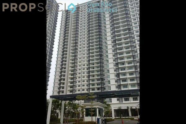 For Rent Condominium at Scenaria, Segambut Freehold Semi Furnished 3R/2B 1.5k