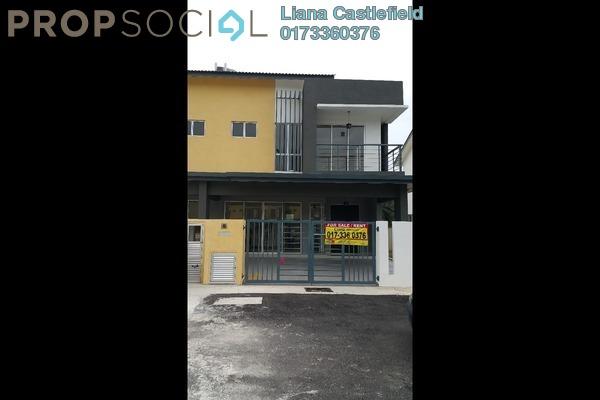 For Sale Semi-Detached at Taman Delima Jaya 2, Dengkil Freehold Unfurnished 4R/3B 640k