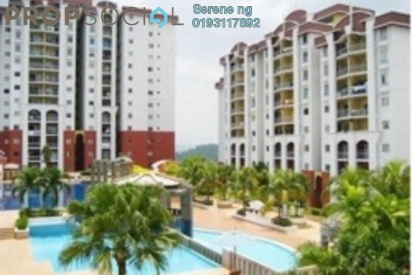 For Rent Condominium at Ketumbar Hill, Cheras Freehold Semi Furnished 3R/2B 1.7k