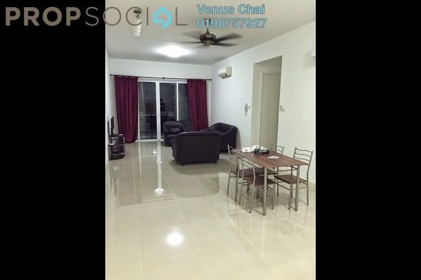 For Rent Condominium at Le Yuan Residence, Kuchai Lama Freehold Fully Furnished 2R/2B 2.5k