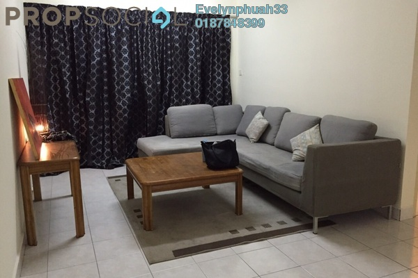 For Rent Apartment at Flora Damansara, Damansara Perdana Leasehold Fully Furnished 3R/2B 1.2k