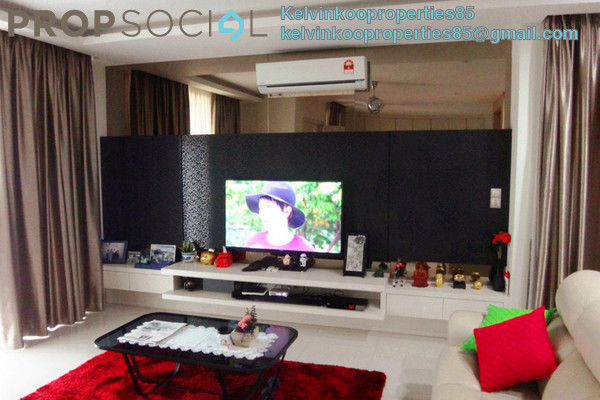 For Sale Semi-Detached at Setia Eco Park, Setia Alam Freehold Fully Furnished 4R/5B 2.2m