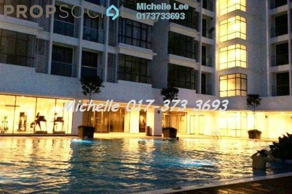 For Rent Condominium at Kemuning Utama Commercial Centre, Kemuning Utama Freehold Semi Furnished 3R/2B 2.2k