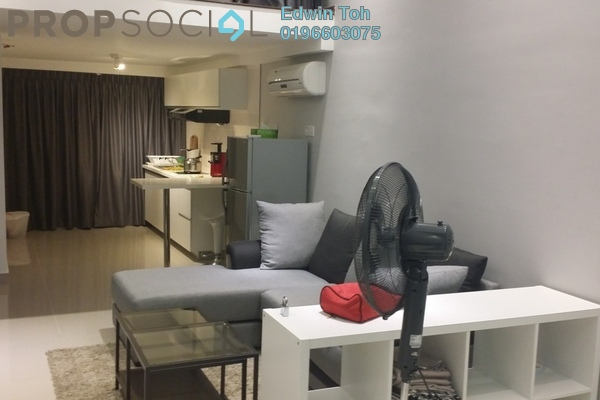 For Rent Condominium at Subang SoHo, Subang Jaya Freehold Fully Furnished 1R/1B 2.3k
