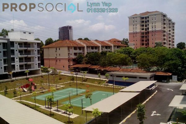 For Rent Condominium at Pelangi Heights, Klang Freehold Semi Furnished 3R/2B 1.2k