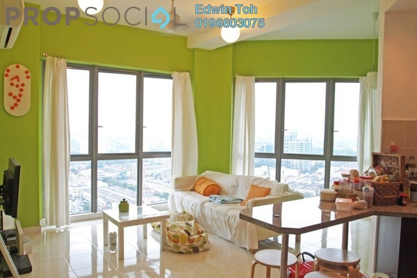 For Rent Condominium at Tropicana City Tropics, Petaling Jaya Freehold Fully Furnished 2R/2B 2.6k