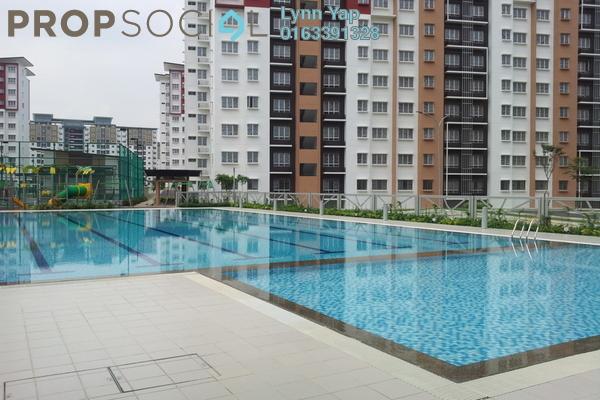 For Rent Apartment at Seri Jati Apartment, Setia Alam Freehold Semi Furnished 3R/2B 800translationmissing:en.pricing.unit