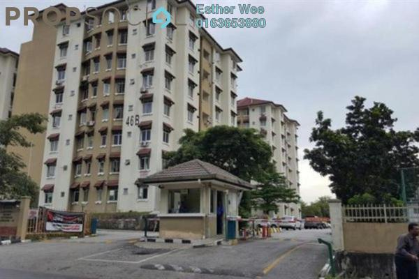 For Sale Apartment at Sri Ixora Apartment, Kajang Freehold Semi Furnished 3R/2B 340k