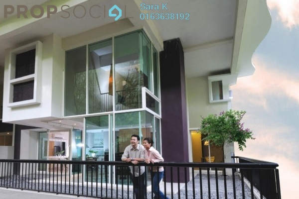 For Sale Duplex at Armanee Terrace II, Damansara Perdana Leasehold Unfurnished 4R/4B 1.15m