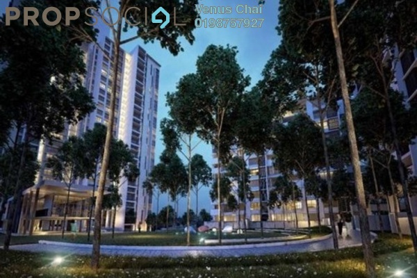 For Rent Condominium at Azelia Residence, Bandar Sri Damansara Freehold Semi Furnished 2R/2B 2.8k