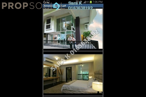 For Sale Duplex at Armanee Terrace II, Damansara Perdana Leasehold Unfurnished 4R/4B 1.39m
