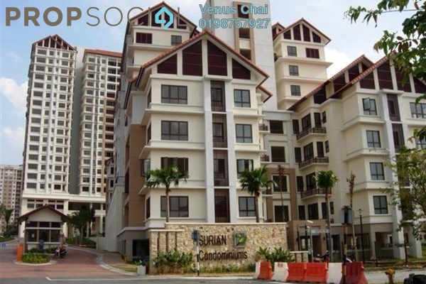 For Rent Condominium at Surian Condominiums, Mutiara Damansara Freehold Fully Furnished 4R/4B 5.8千