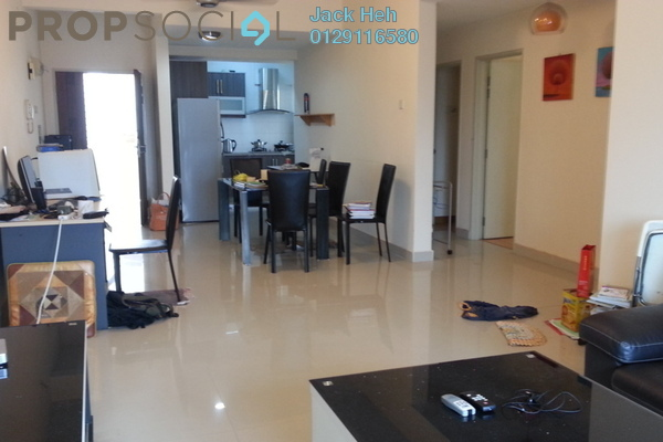 For Rent Townhouse at Kiara Green, TTDI Freehold Fully Furnished 2R/2B 2.5k