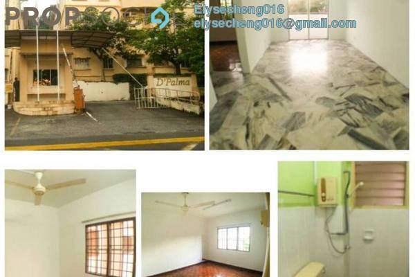 For Rent Apartment at D'Palma Apartment, Pusat Bandar Puchong Freehold Semi Furnished 3R/2B 950translationmissing:en.pricing.unit