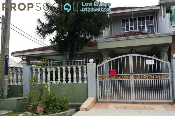 For Sale Terrace at Taman Serdang Raya, Seri Kembangan Leasehold Semi Furnished 6R/4B 750k