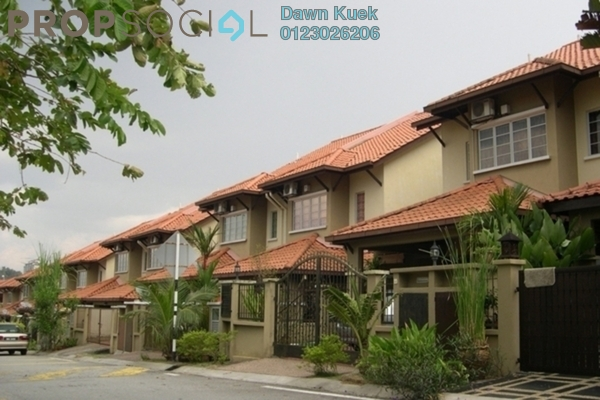 For Sale Terrace at Damai Rasa, Alam Damai Leasehold Semi Furnished 5R/4B 960k