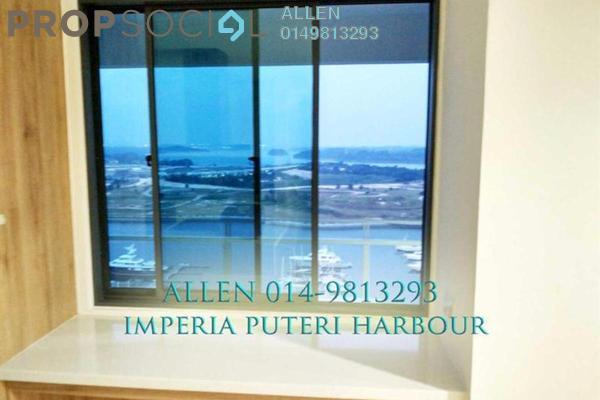 For Sale Condominium at Imperia, Puteri Harbour Freehold Semi Furnished 2R/2B 950k