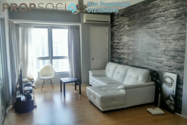 For Rent Serviced Residence at i-Zen Kiara I, Mont Kiara Freehold Fully Furnished 2R/2B 3.5k