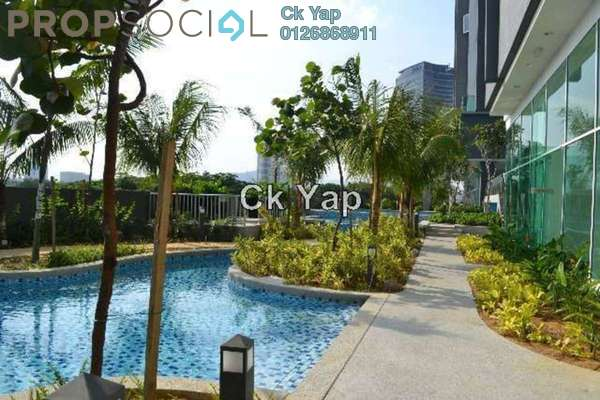 For Rent Serviced Residence at Glomac Damansara, TTDI Freehold Semi Furnished 3R/4B 3.8k