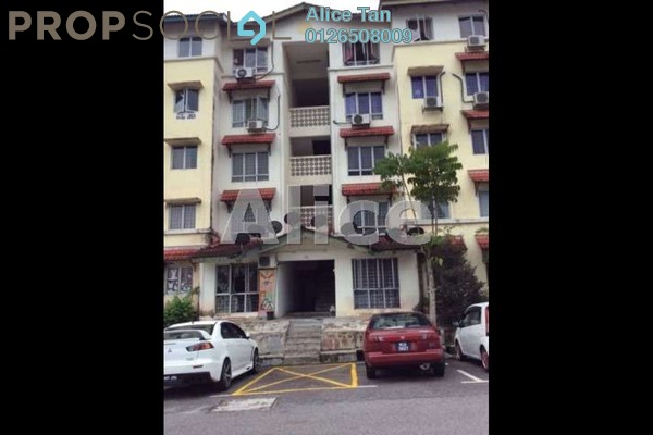 For Rent Apartment at Bayu Apartment, Damansara Damai Leasehold Unfurnished 3R/2B 1k