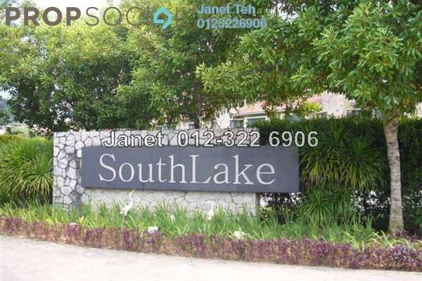 For Sale Terrace at SouthLake, Desa ParkCity Freehold Semi Furnished 3R/3B 1.8m