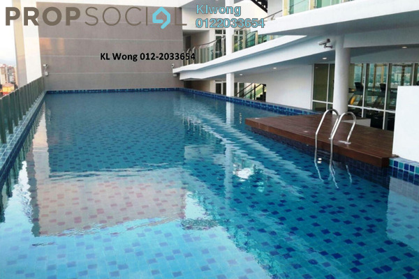 For Sale Serviced Residence at Central Residence, Sungai Besi Freehold Semi Furnished 2R/1B 535k