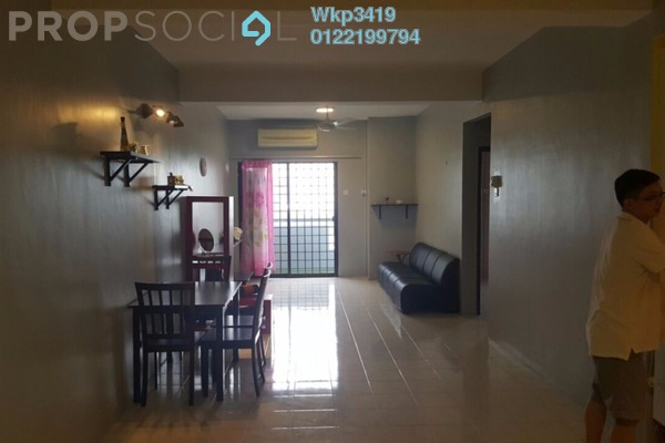 For Sale Condominium at Bougainvilla, Segambut Freehold Fully Furnished 3R/2B 475k