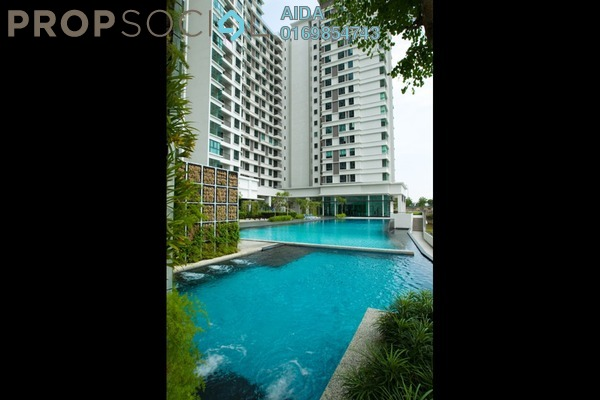 For Rent Condominium at Nautica Lake Suites @ Sunway South Quay, Bandar Sunway Leasehold Fully Furnished 3R/3B 3.4k