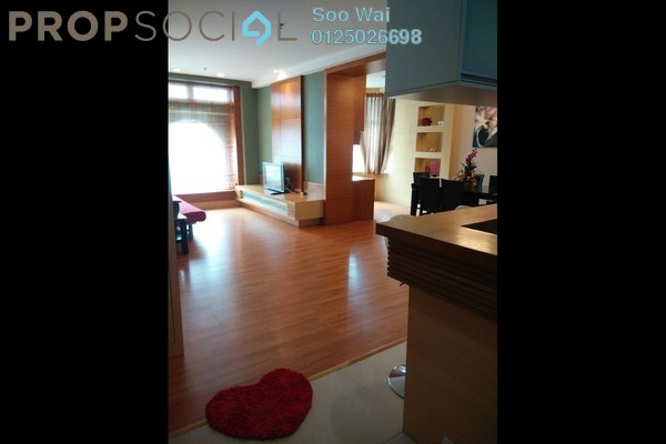 For Sale Serviced Residence at Park View, KLCC Freehold Fully Furnished 1R/2B 860k