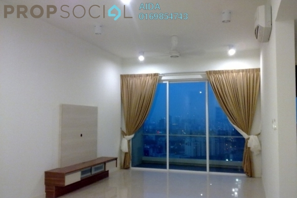 For Rent Condominium at The Park Residences, Bangsar South Leasehold Semi Furnished 2R/2B 3.7k