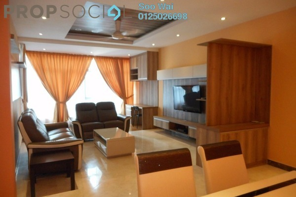 For Rent Condominium at Suasana Sentral Condominium, KL Sentral Freehold Fully Furnished 3R/2B 5k