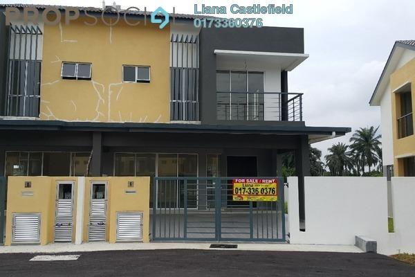 For Sale Semi-Detached at Taman Delima Jaya 2, Dengkil Leasehold Unfurnished 4R/3B 700k