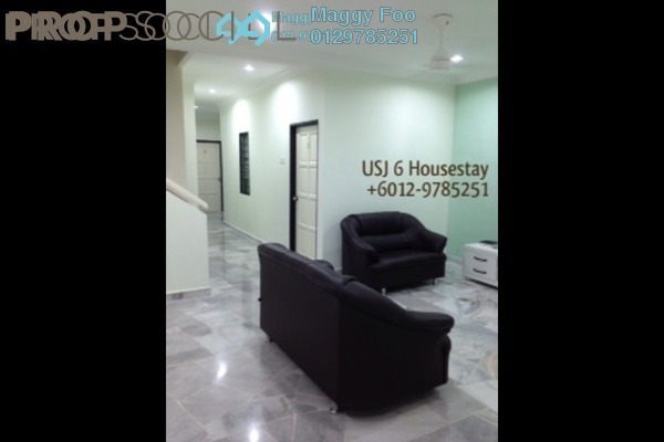 For Rent Terrace at USJ 6, UEP Subang Jaya Freehold Fully Furnished 4R/4B 480translationmissing:en.pricing.unit
