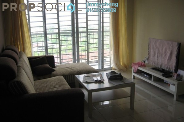 For Rent Serviced Residence at Koi Kinrara, Bandar Puchong Jaya Freehold Fully Furnished 3R/2B 1.8k