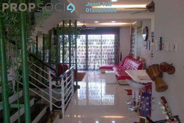 For Rent Terrace at Zenia, Desa ParkCity Freehold Fully Furnished 4R/5B 7.5k