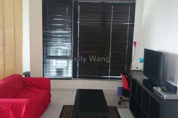 For Sale Condominium at Casa Tiara, Subang Jaya Freehold Fully Furnished 0R/1B 380k