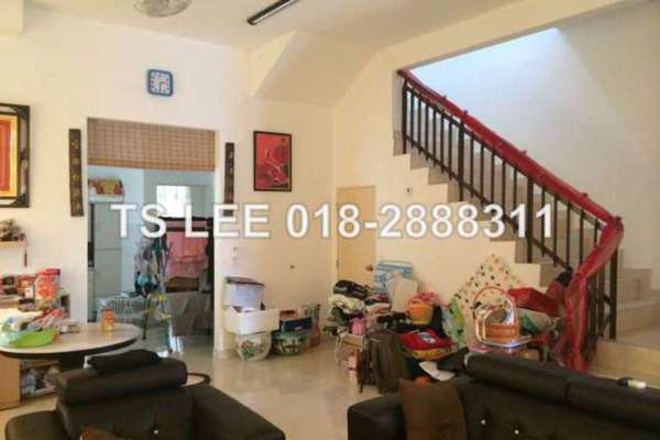 For Sale Terrace at Setia Indah, Setia Alam Freehold Unfurnished 4R/3B 920k