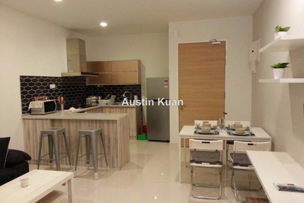 For Rent Apartment at Camellia, Bangsar South Leasehold Semi Furnished 1R/1B 2.4k