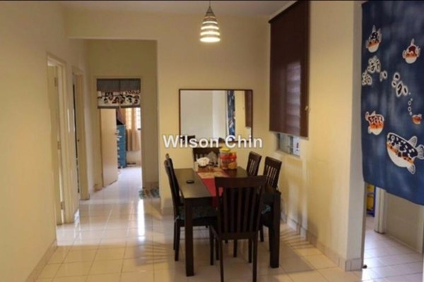 For Sale Condominium at Casa Puteri, Bandar Puteri Puchong Freehold Fully Furnished 3R/2B 493k