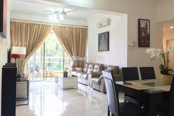 For Sale Condominium at Greenview Residence, Bandar Sungai Long Freehold Semi Furnished 3R/2B 525k