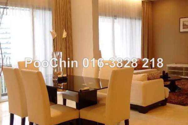 For Rent Condominium at Dua Residency, KLCC Freehold Fully Furnished 3R/5B 7.5k