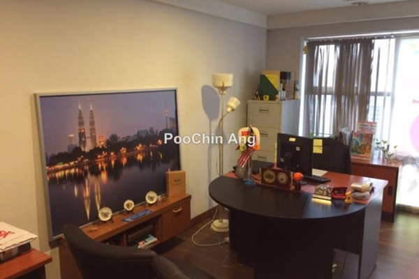 For Rent Office at Plaza 138, KLCC Freehold Fully Furnished 0R/1B 7k