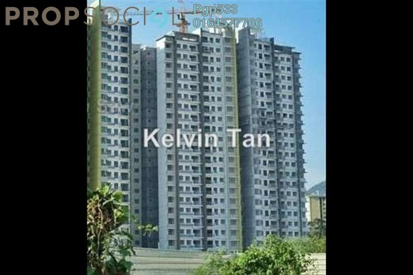 For Sale Condominium at One Imperial, Sungai Ara Freehold Semi Furnished 3R/2B 668k