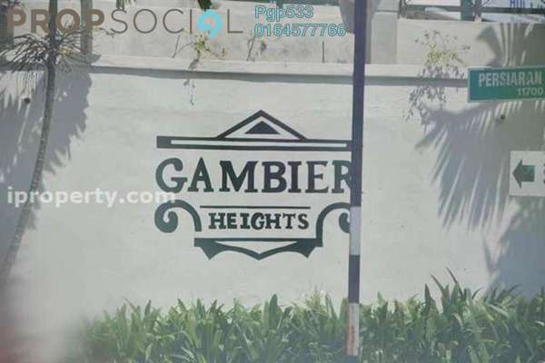 For Rent Condominium at Gambier Heights, Bukit Gambier Freehold Fully Furnished 3R/2B 1.0千