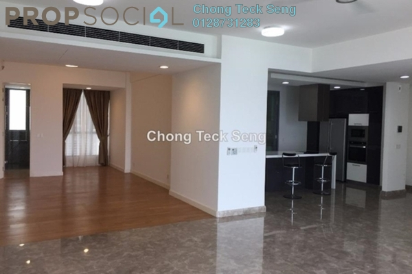 For Rent Condominium at Kiaramas Danai, Mont Kiara Freehold Semi Furnished 3R/3B 8k