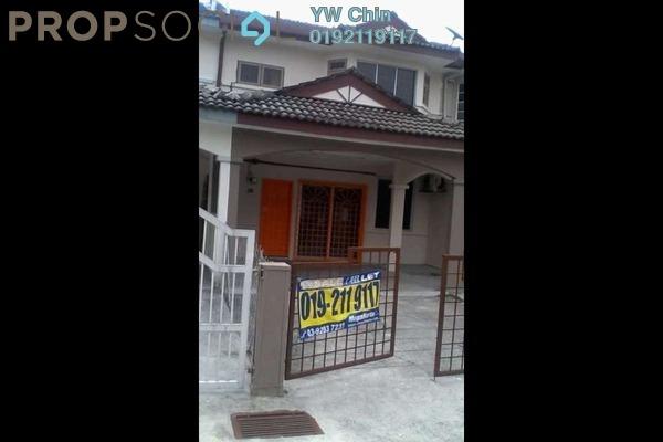 For Rent Terrace at Pandan Perdana, Pandan Indah Leasehold Unfurnished 4R/3B 1.6k