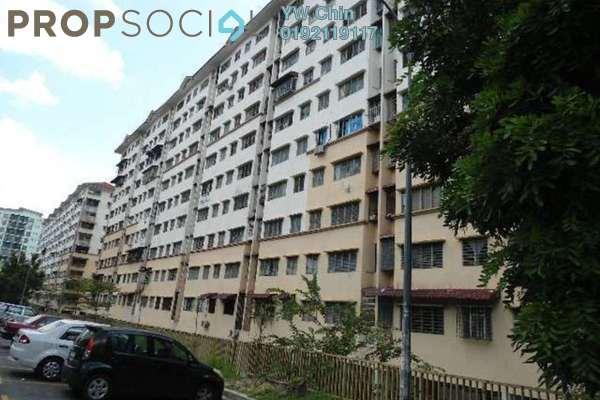 For Rent Apartment at Section 3, Bandar Mahkota Cheras Freehold Unfurnished 3R/2B 650translationmissing:en.pricing.unit