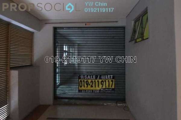 For Rent Office at Plaza 393, Cheras Leasehold Semi Furnished 0R/0B 3k