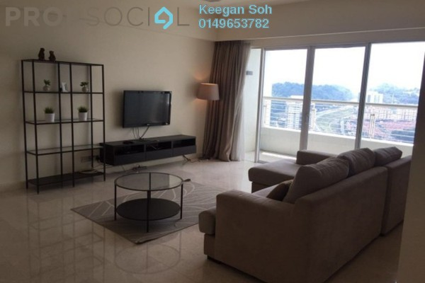 For Rent Condominium at Tiffani Kiara, Mont Kiara Freehold Fully Furnished 4R/4B 6.5k