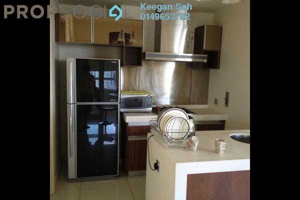For Rent Condominium at Tiffani Kiara, Mont Kiara Freehold Fully Furnished 2R/2B 3.6k